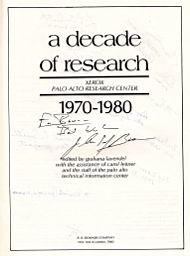 xerox parc research papers