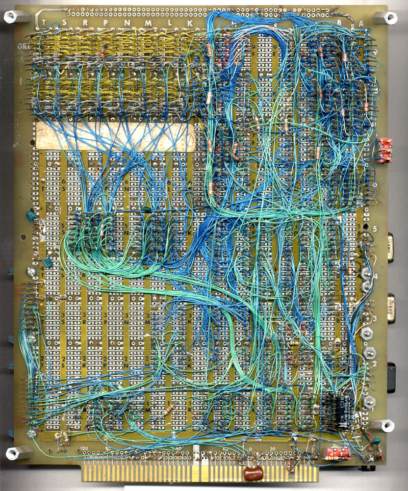 Circuit Board Wire Wrapping - WIRE Center •