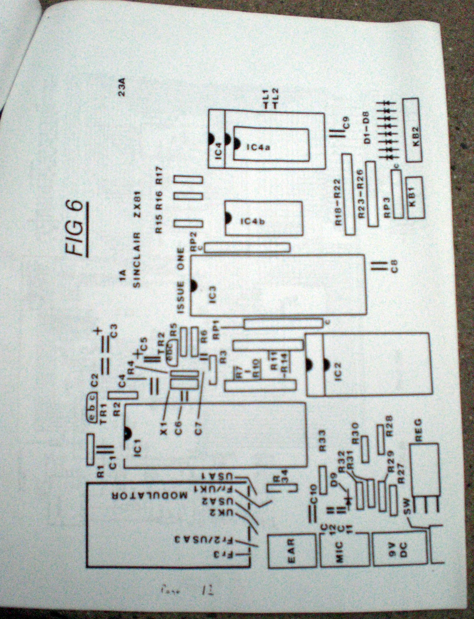 digibarn systems sinclair zx81 home computer  zx81 circuit diagram #50
