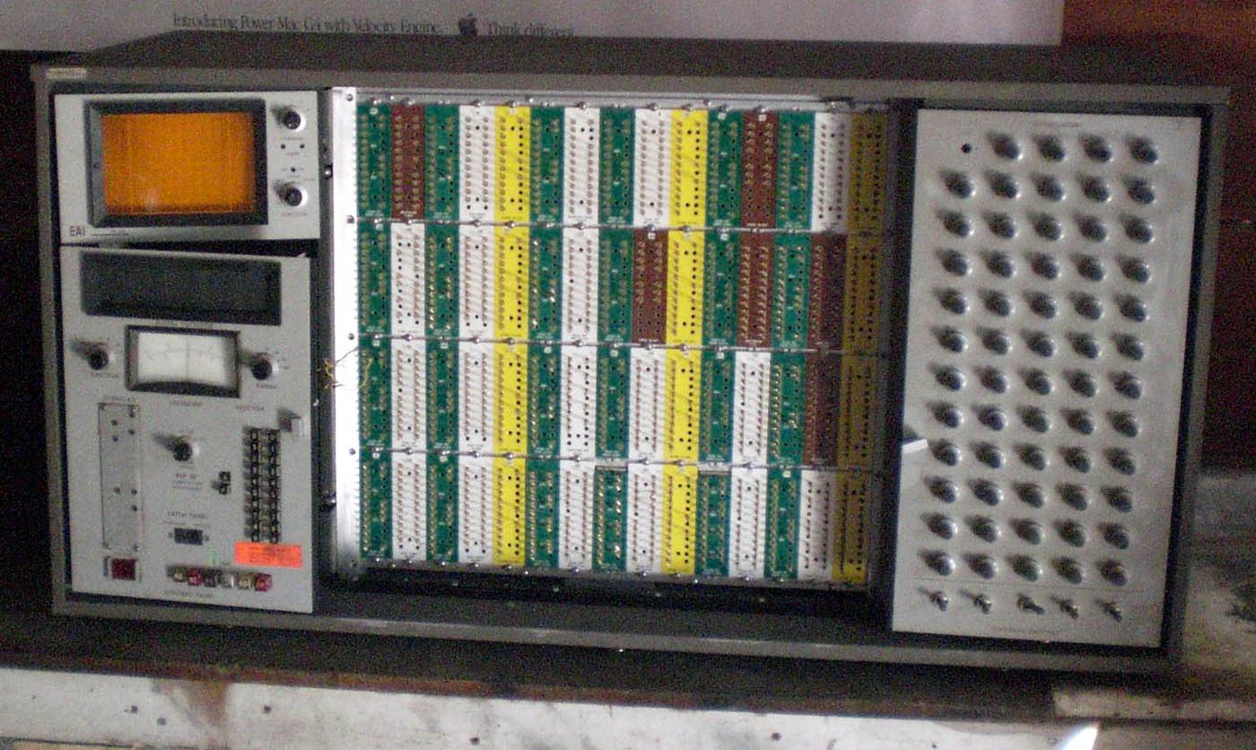 Digibarn Systems: The PACE TR-48 desktop analog computer by EAI