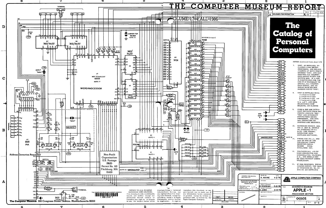 anyone have a high resolution apple  schematic?  apple, schematic
